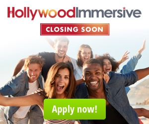 Hollywood Immersive EOI 2019 Closing Soon
