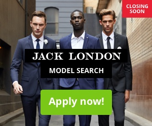 Jack London Model Search 2020 Closing Soon