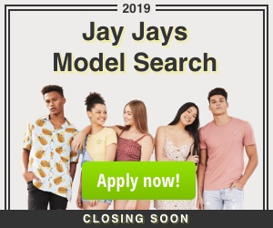 Jay Jays Model Search 2019 Closing Soon
