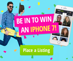 Place a listing and be in to win an iPhone
