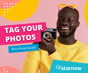 Tag your photos with #StarNowSquad