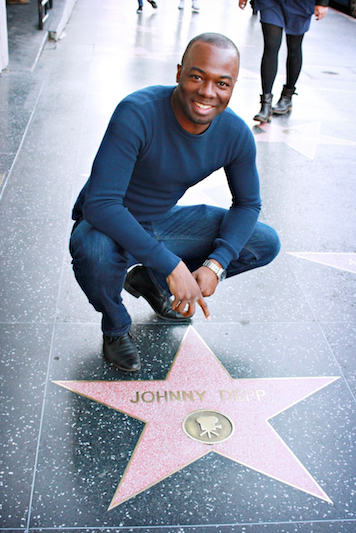 Phil by Johnny Depp's Star