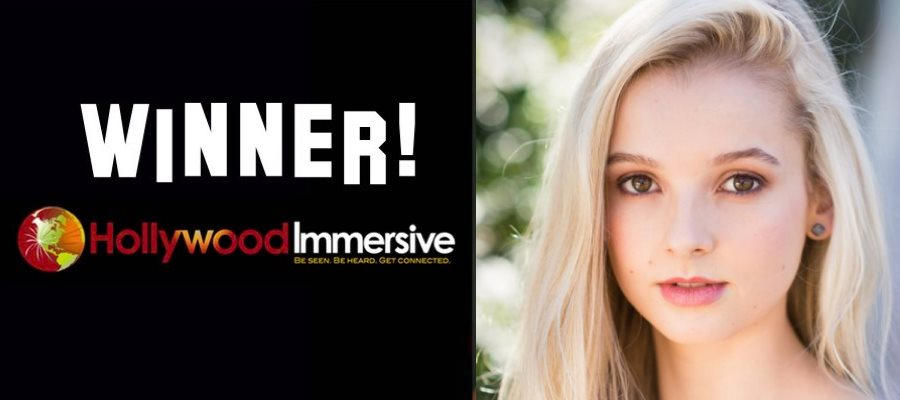 Winner announcement! Hollywood Immersive March 2017