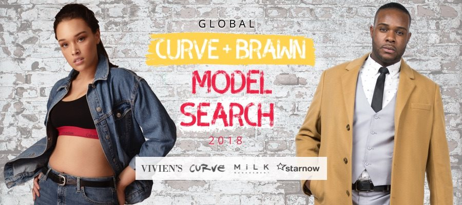 The Global Curve & Brawn Model Search 2018 Winners Announcement!